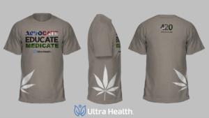 Ultra Health 420 Commemorative T-shirt